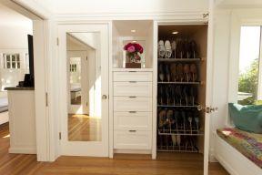 客廳鞋柜 玄關鏡子