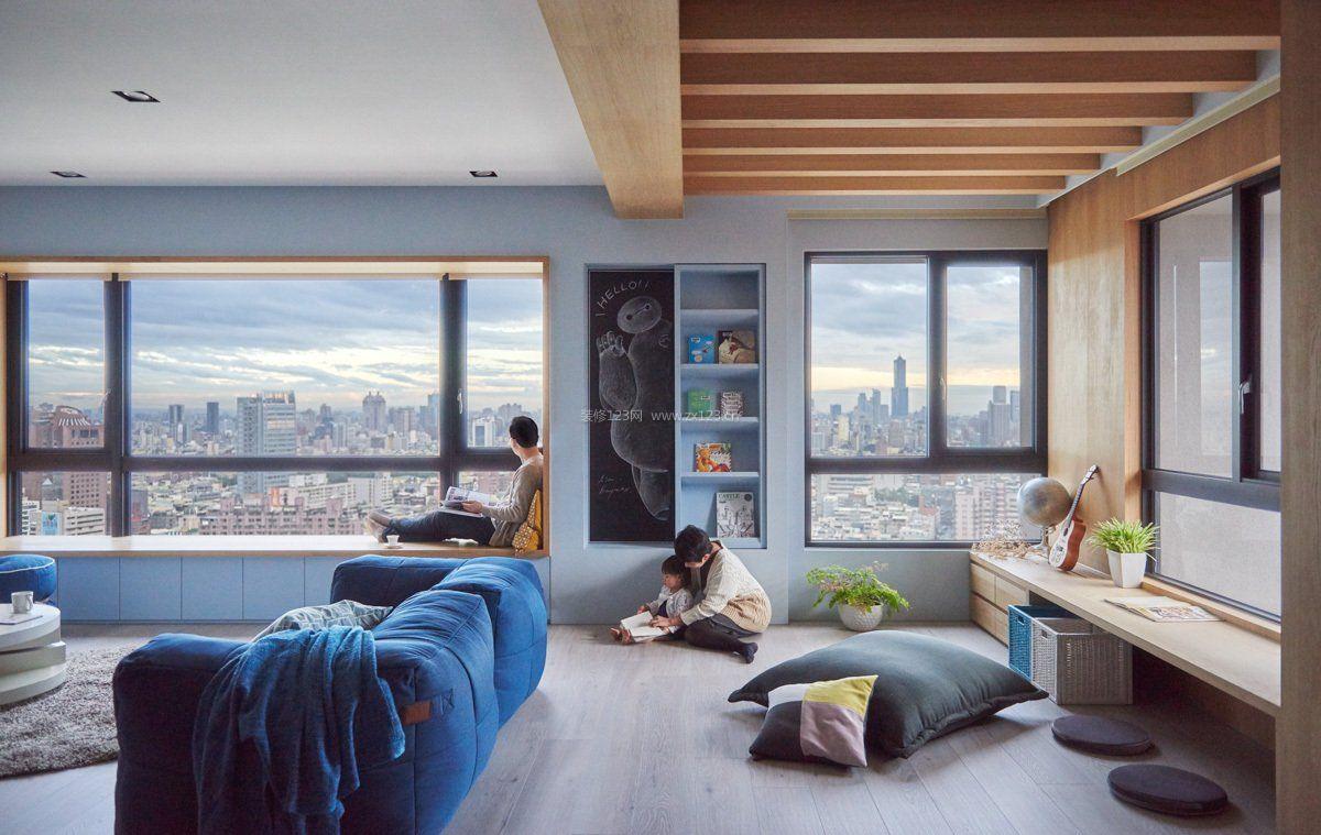 小客厅吊顶设计装修效果图片2017