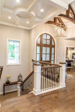 顶楼带阁楼室内楼梯设计装修效果图