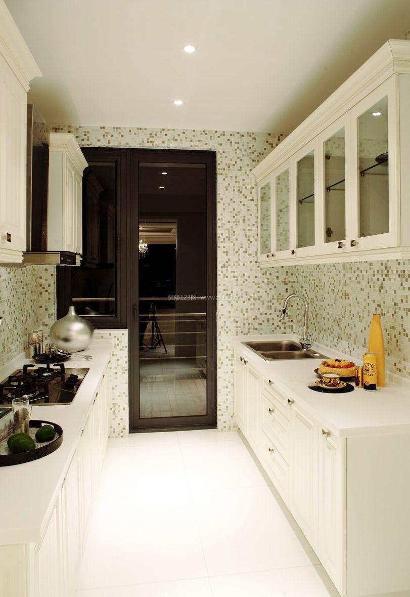 60平米小户型厨房装修设计图片2017