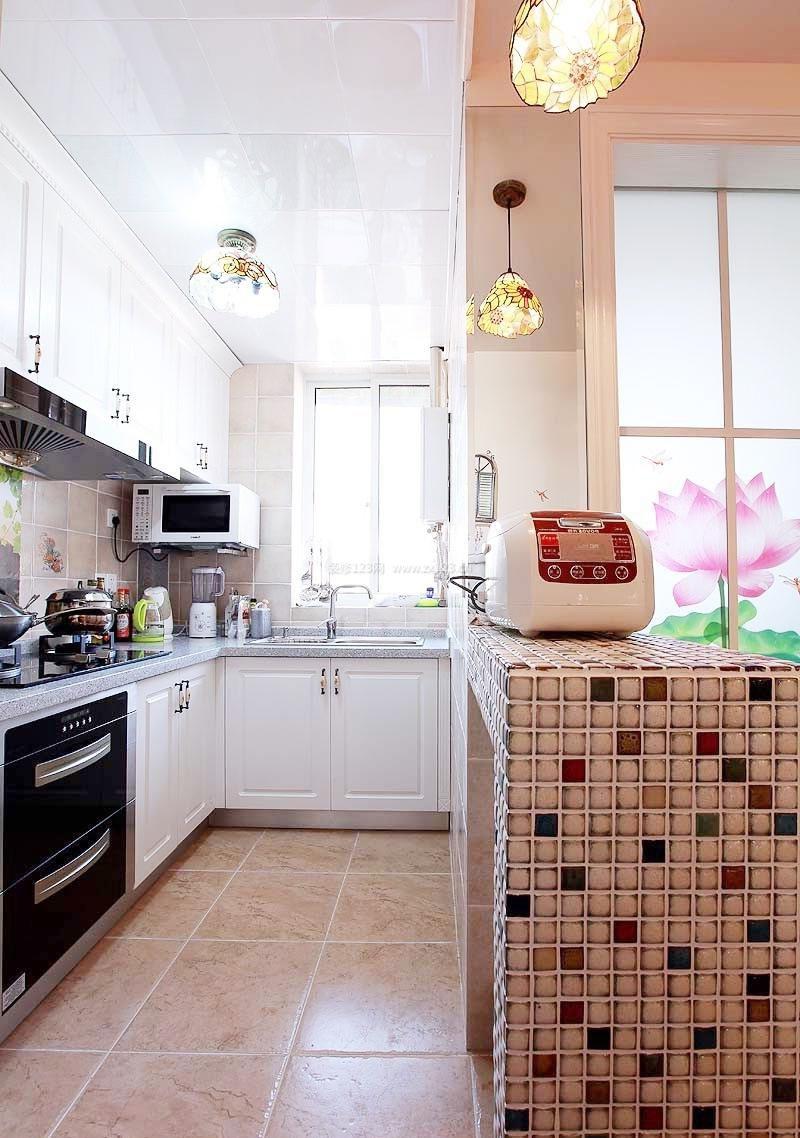 60平米小户型厨房装修效果图2017图片