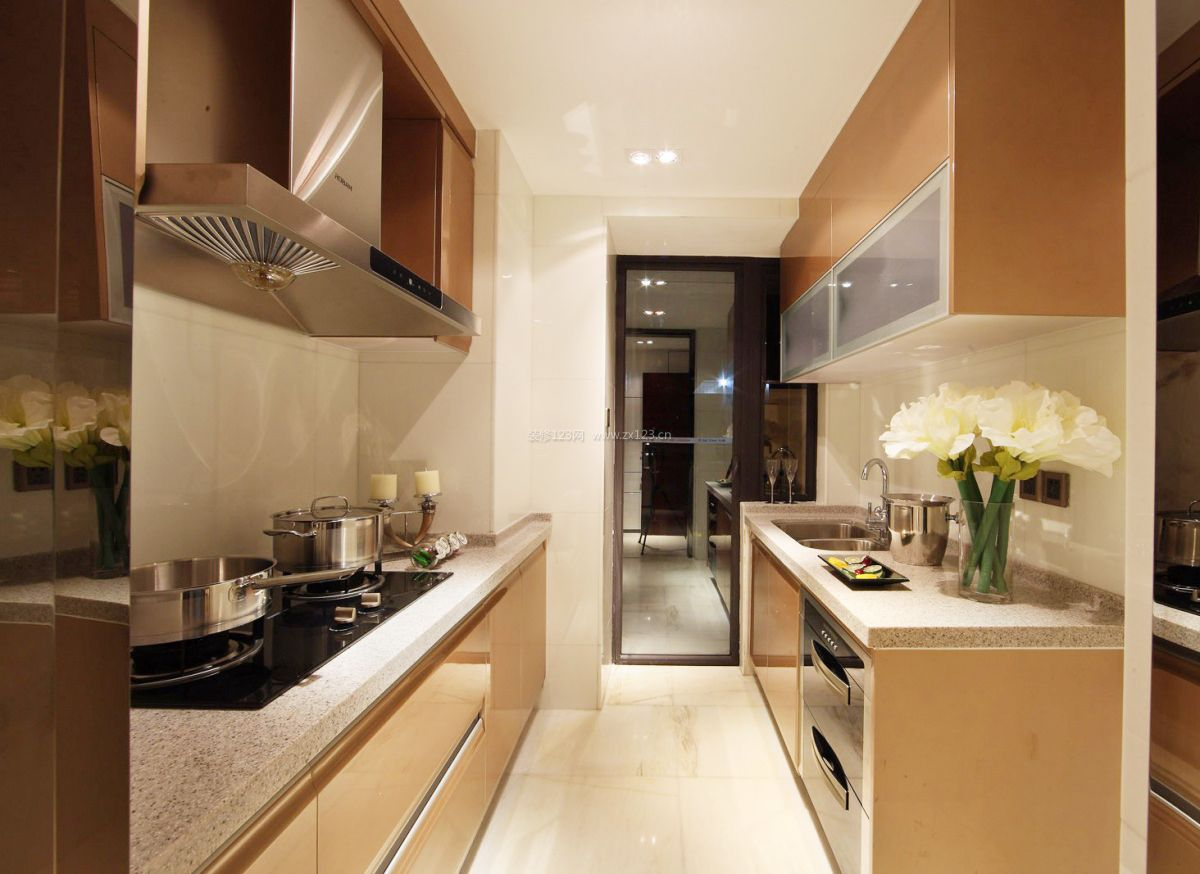 60平米小户型厨房装修设计图