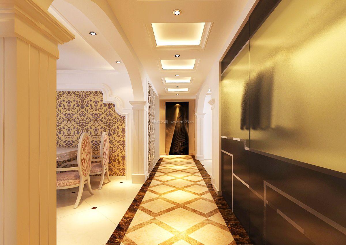 房屋家庭走廊设计图图片
