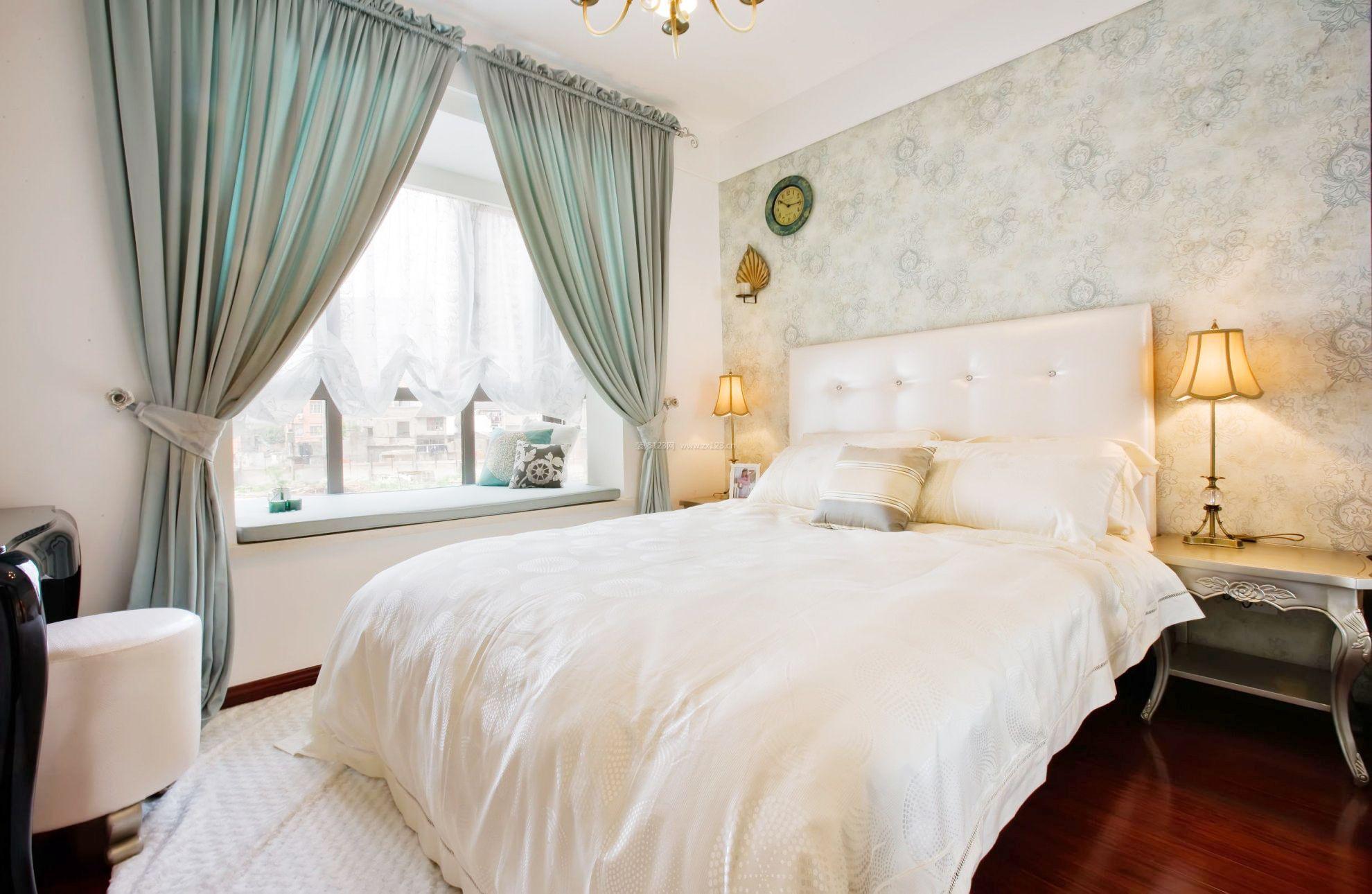 欧式家居卧室阳台飘窗装修效果图