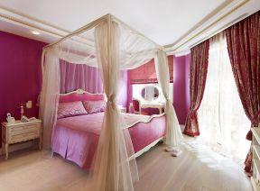 欧式风格卧室装修效果图片 梳妆台图片