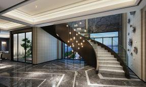中式復式 中式玻璃樓梯