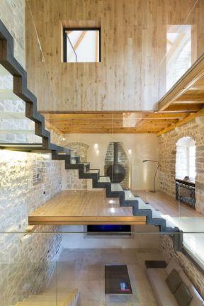 頂樓加閣樓裝修效果 室內閣樓樓梯裝修圖片