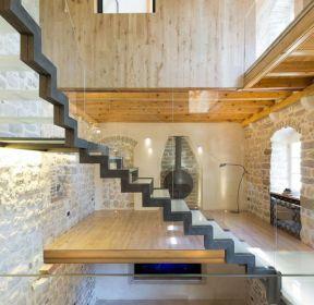 阁楼楼梯装修效果
