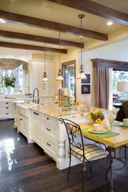 国外农村别墅设计厨房装修效果图