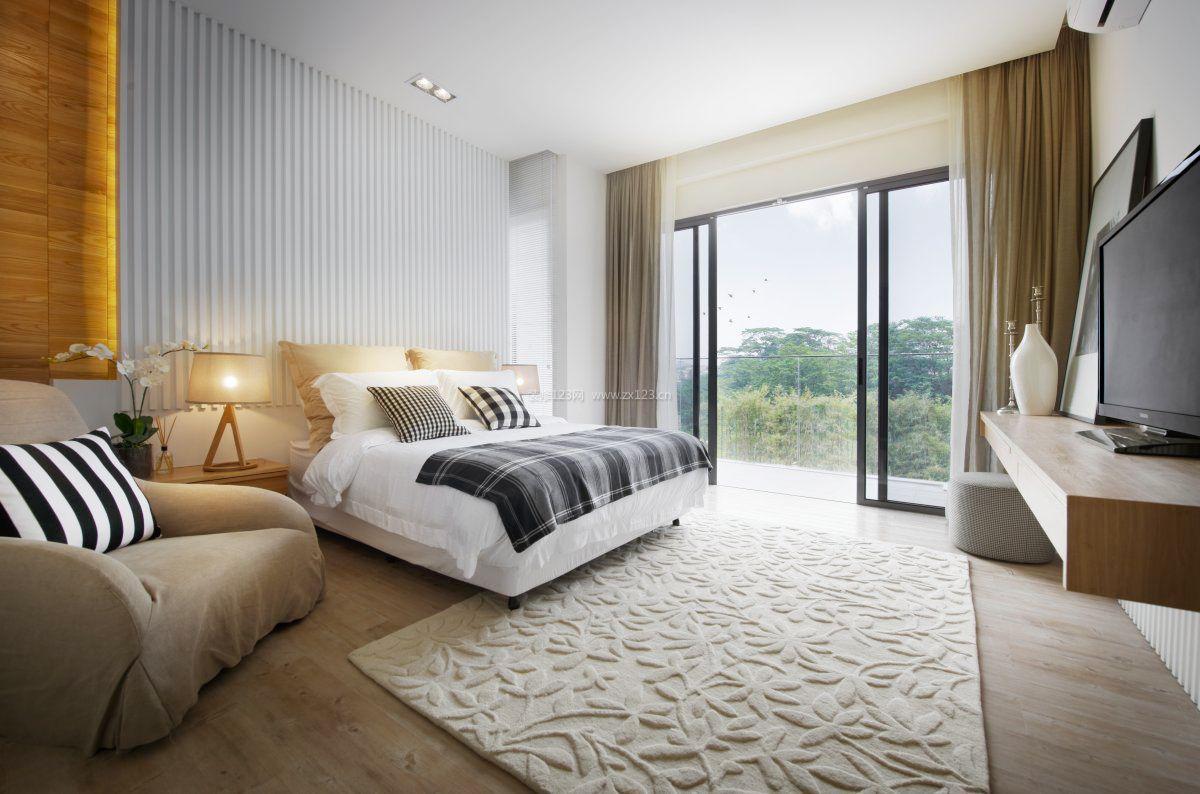 家装12平米卧室室内装修效果图大全图片
