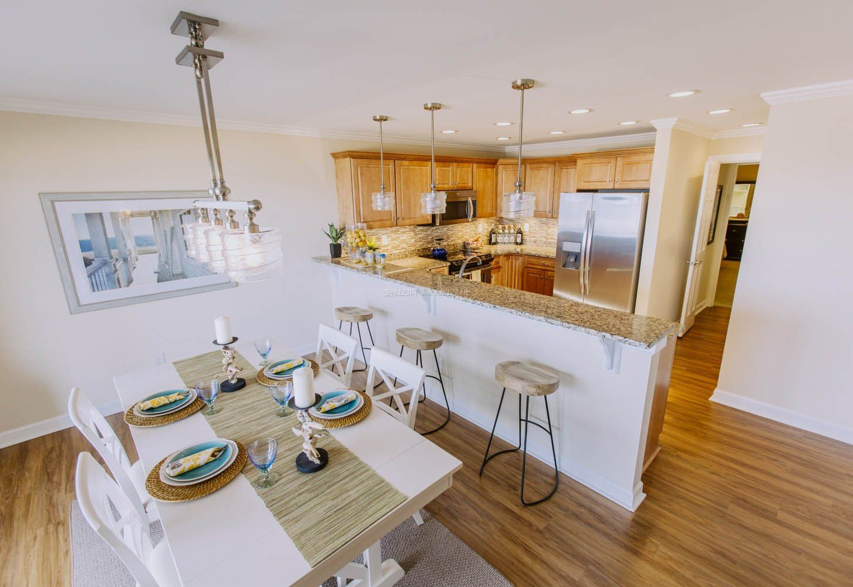 半开放式厨房装修效果图2017图片