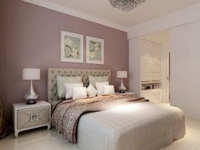 现代简约风格样板 主卧室装修效果图片