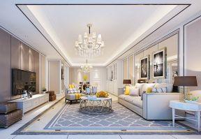 客厅装修效果图大全2017 简约欧式沙发图片