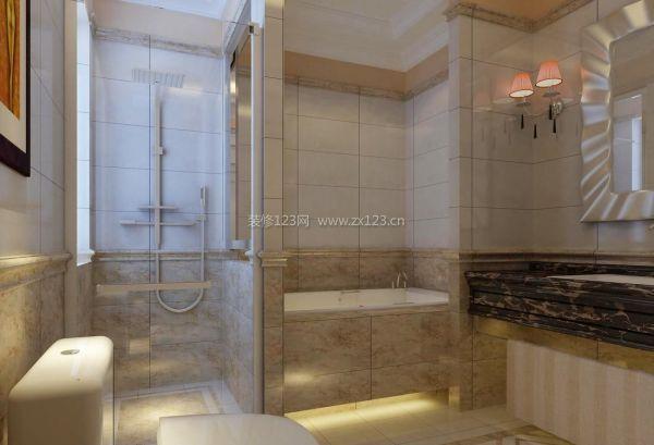 欧式小户型淋浴房装修设计