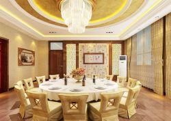 精美中式饭馆包间吊顶效果图图片