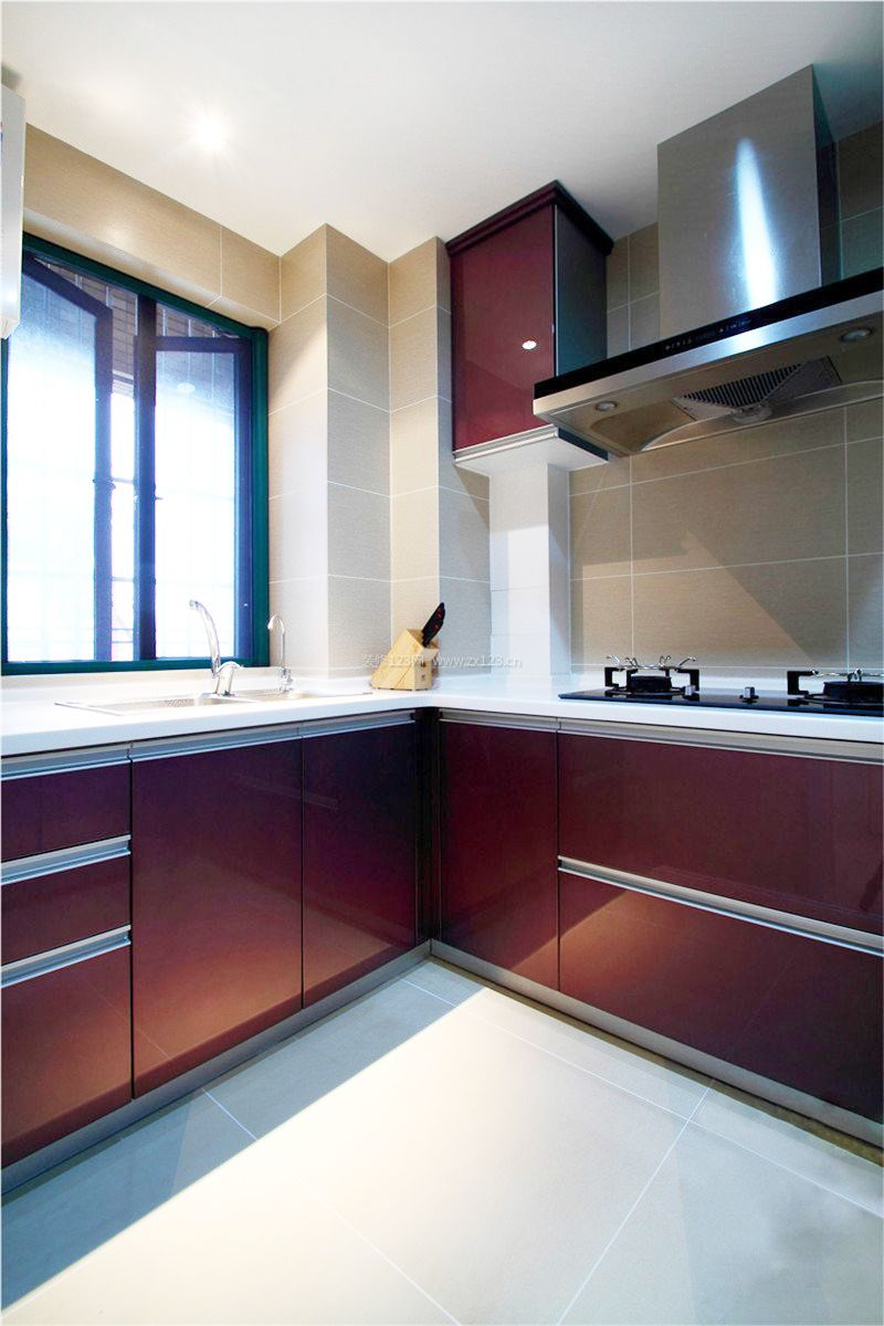 小厨房灶台设计装修效果图大全2017图片