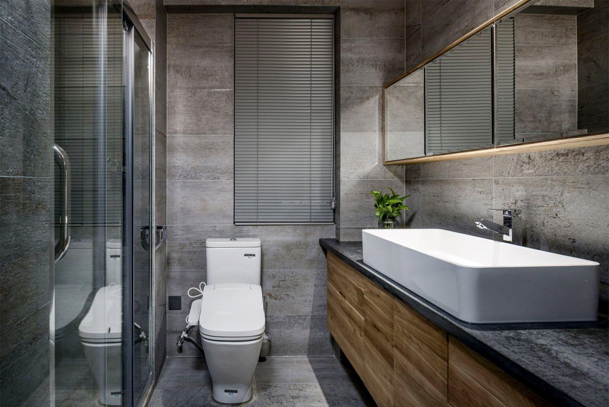 95平米房屋家装小卫生间装修效果图