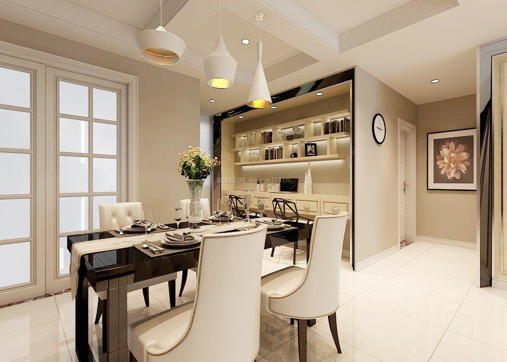 95平米现代房屋餐厅设计装修效果图