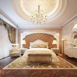 2013欧式卧室床头背景墙效果图大全图片