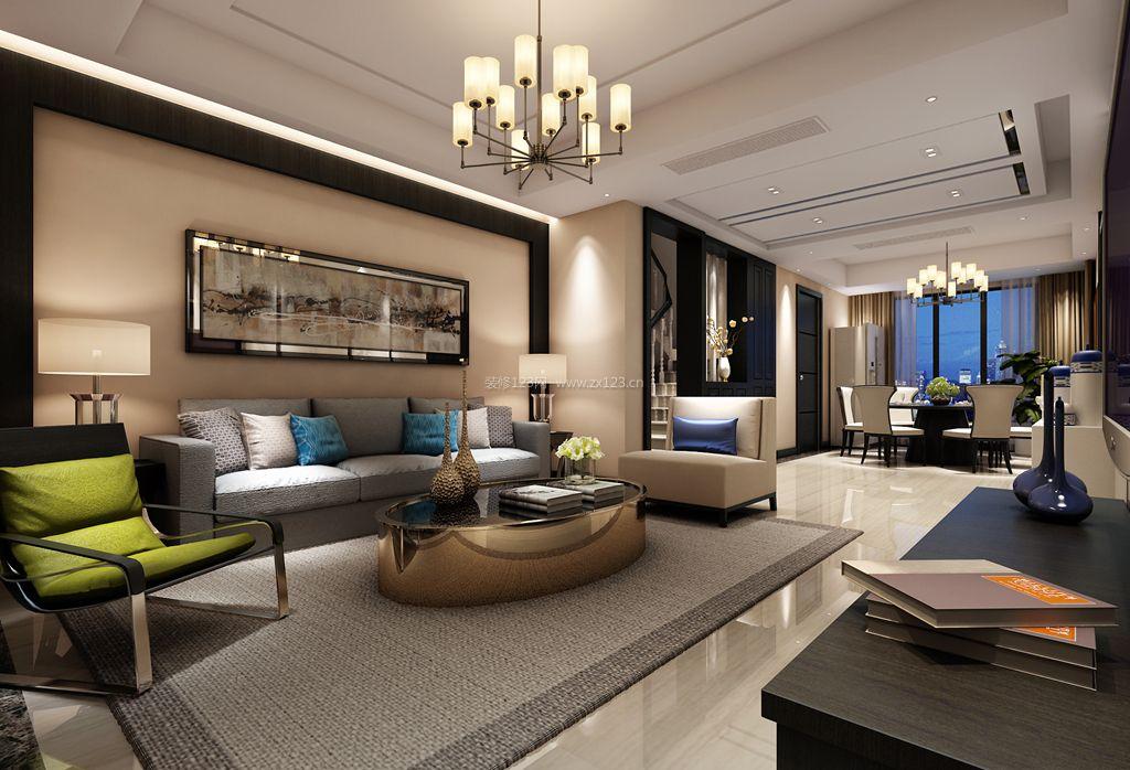 160平米四室两厅现代简约装修设计图片