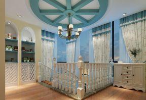 简约地中海风格 吊顶造型装修效果图片
