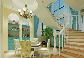 田园地中海风格 家庭休闲区装修效果图片