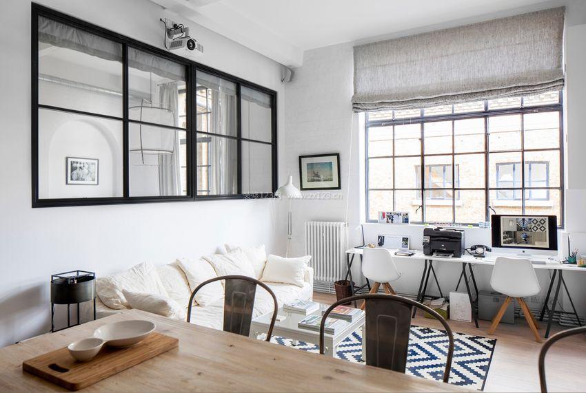 60平米小户型单身公寓装修效果图