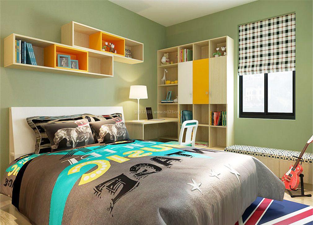 家庭儿童房整体装修效果图大全2017图片