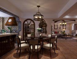 135平房子三室兩廳美式風格裝修效果圖