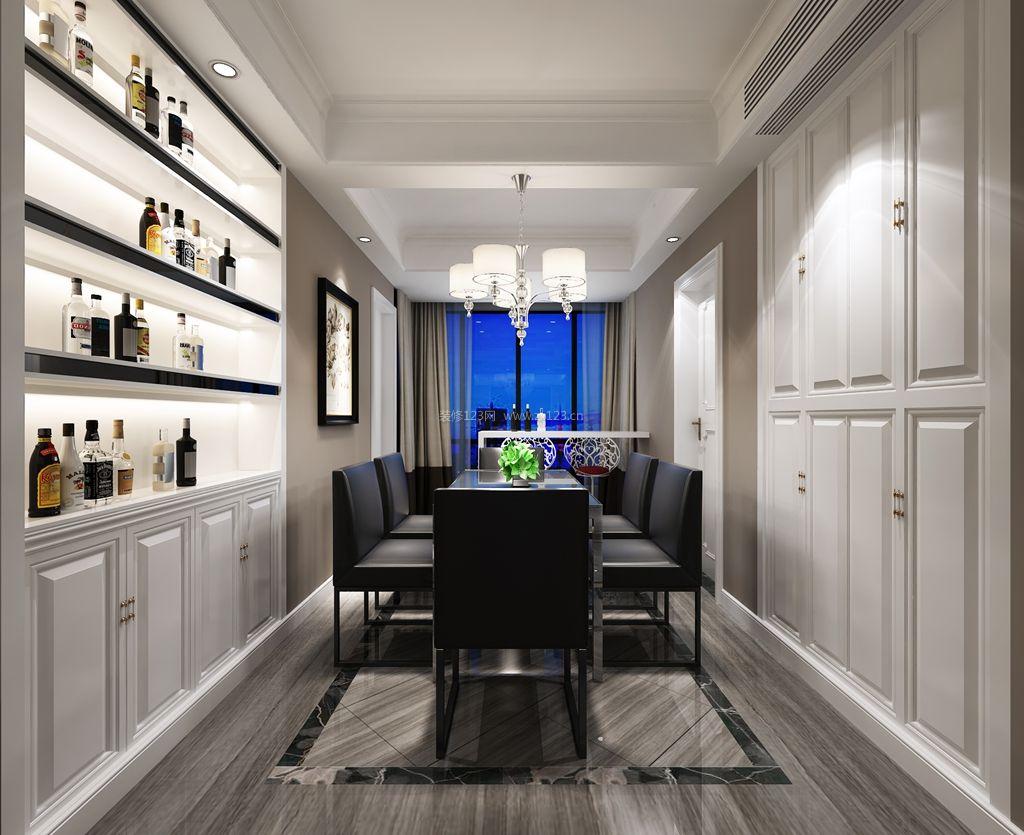 后现代风格家庭餐厅装修效果图大全2017图片_装修123