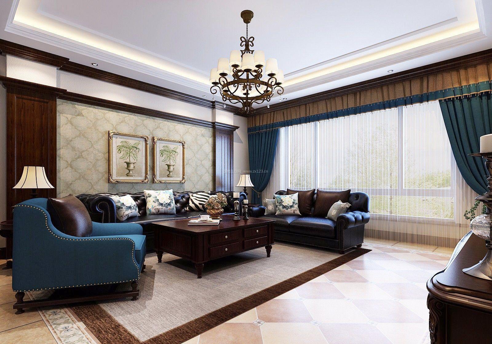 欧式古典客厅装修效果图大全2017图片图片