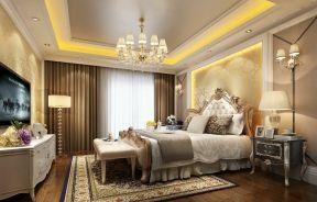 欧式风格卧室装修效果图片 卧室电视墙装修效果图