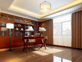 中式三居室 新中式风格书房装修效果图