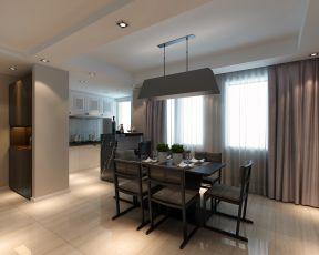 三室两厅装修设计图 家庭餐厅装修效果图片