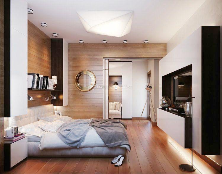 30平单身公寓设计效果图_装修123效果图