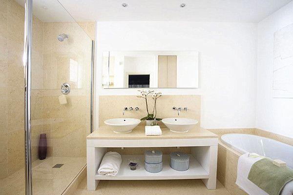 家居浴室装修效果图