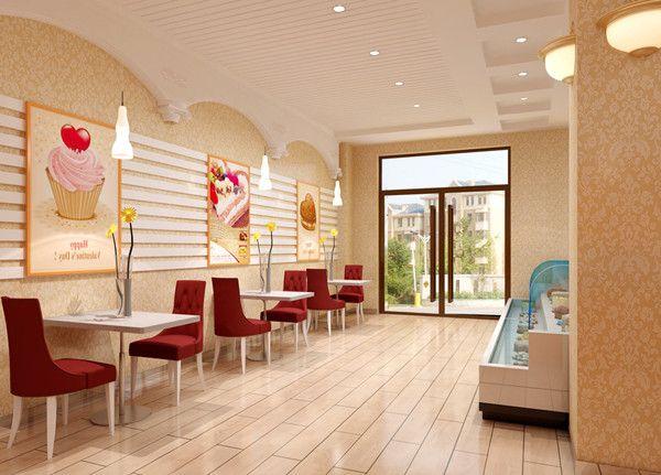 蛋糕店灯饰设计方案1,灯光是蛋糕店店堂的重要物质要素.
