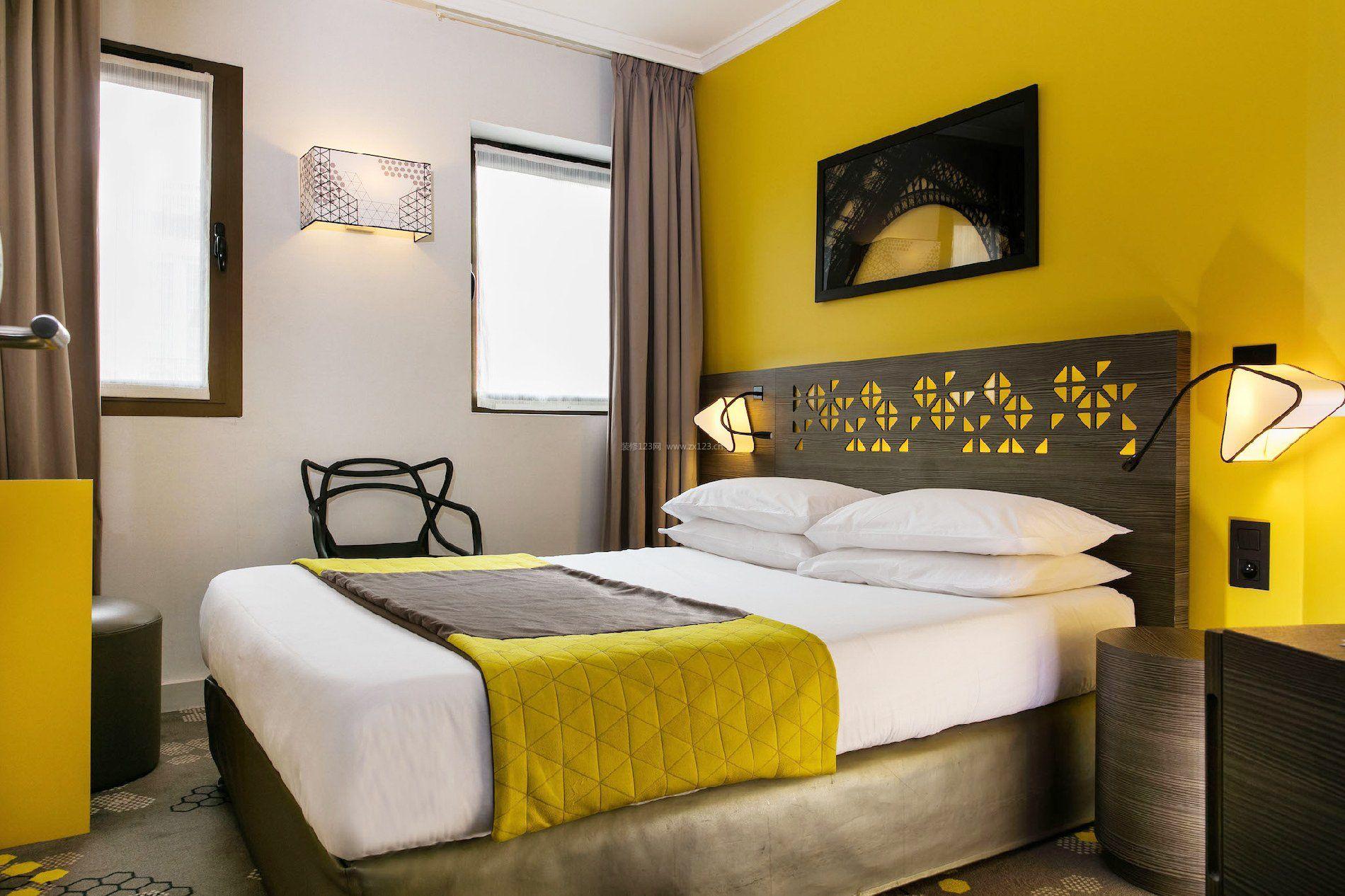 小型酒店单间配套装修效果图集
