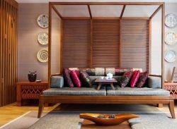 小戶型東南亞風格別墅沙發裝修圖片