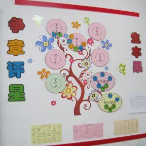 2017小学二年级教室布置设计图片