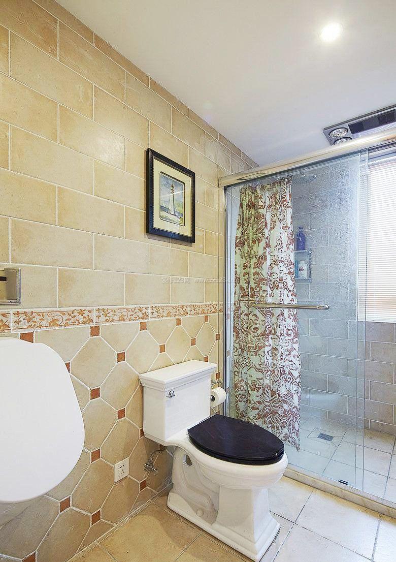 家居室内长卫生间装修效果图欣赏