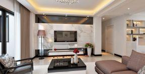 瓷砖背景墙 客厅电视墙背景效果图