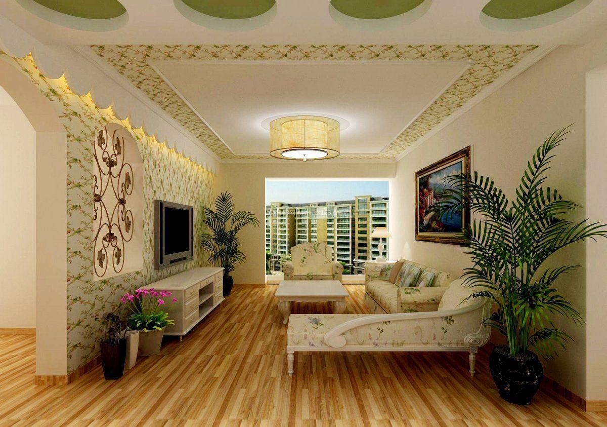 家庭客厅地板装修效果图大全