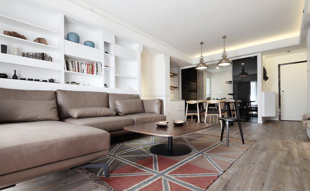 房屋客厅地板装修效果图片