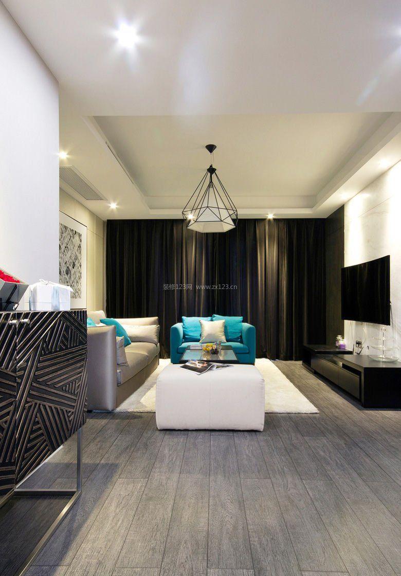 最新房屋客厅地板装修效果图欣赏