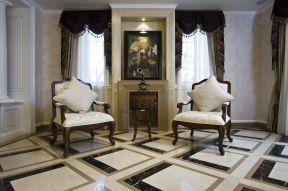 欧式简约风格 沙发椅装修效果图片