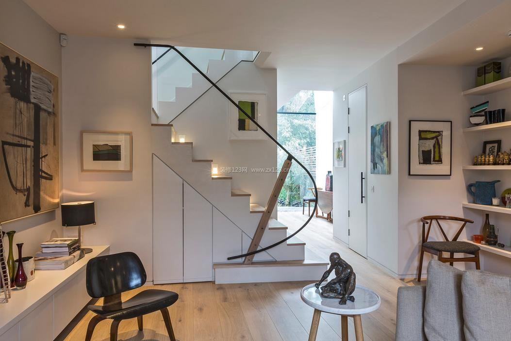 农村小别墅楼梯设计图片图片