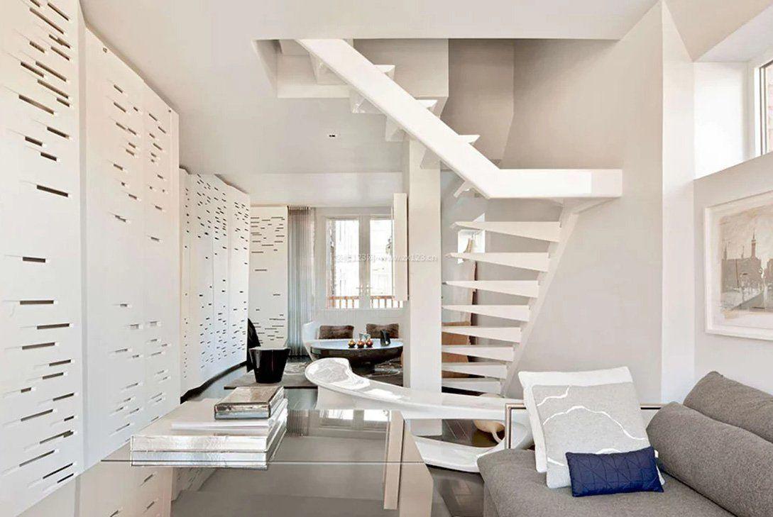跃层楼梯装修效果图大全2017