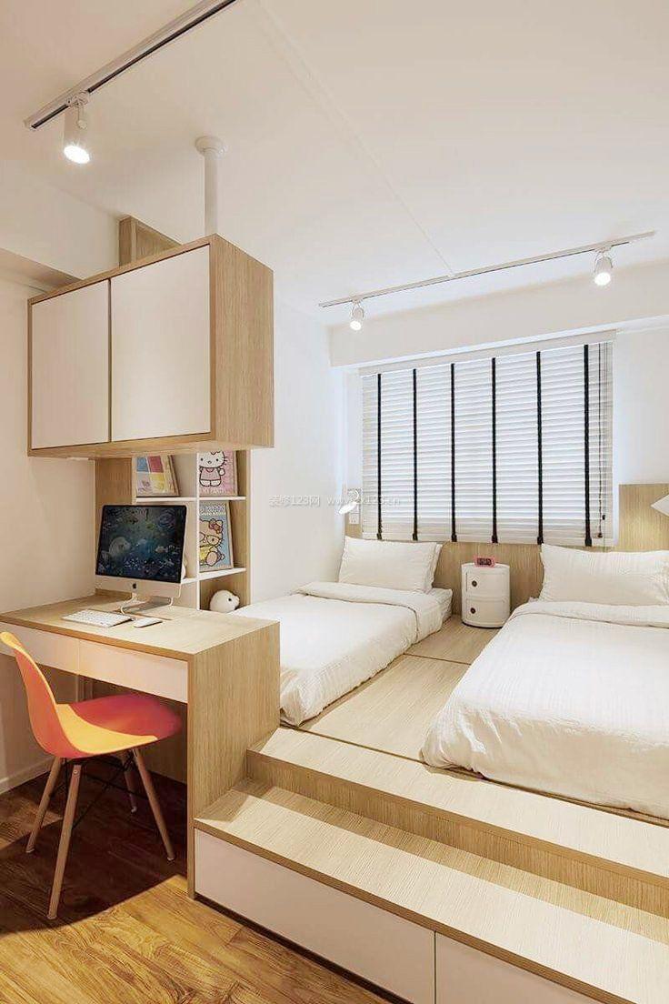65平小户型卧室榻榻米装修效果图大全2017图片图片
