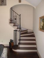 农村小别墅室内楼梯设计装修效果图片2017